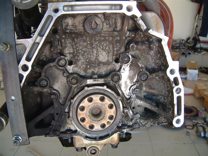 rear main seal leak how to fix